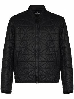 Stone Island Shadow Project geometric quilted bomber jacket 731940902