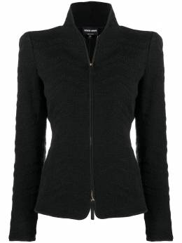 Giorgio Armani long-sleeve fitted jacket 6HAG73AJLTZ