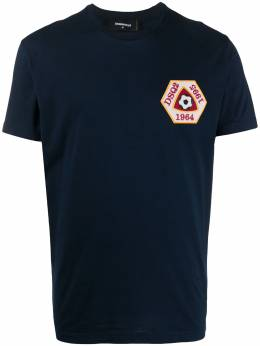 Dsquared2 football-patch T-shirt S74GD0721S22427