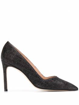 Stuart Weitzman pointed toe pumps ANNYPLEATED