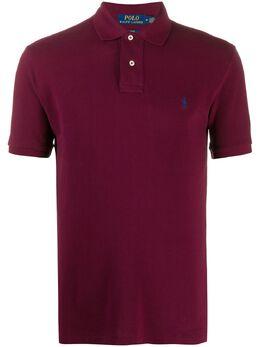 Polo Ralph Lauren рубашка поло с вышитым логотипом 710536856