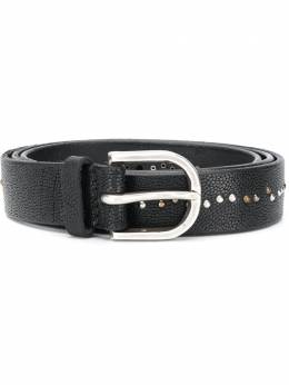 Orciani studded leather belt U07900FROG