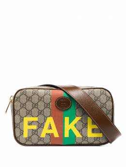 Gucci brown fake/not print belt bag 6026952GCAG