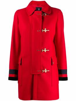 Fay tailored toggle-fastening coat NAW54413400SGLR406