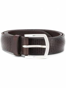 Orciani perforated leather belt U07964BULLSOFT