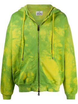 Vivienne Westwood Rugged tie-dye cotton hoodie 2602002321693