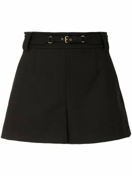 Red Valentino belted flared shorts UR3RFD351Y1