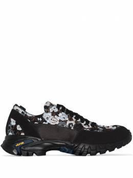 Cecilie Bahnsen кроссовки Max с цветочной вышивкой AW20SH03