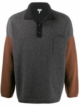 Loewe panelled knitted polo shirt H526333X84