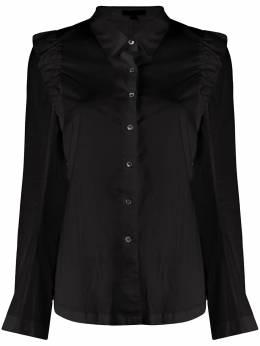 Ann Demeulemeester рубашка с оборками на плечах 20022024120