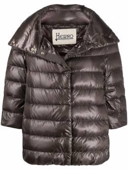 Herno three-quarter sleeve puffer jacket PI0043DIC12017