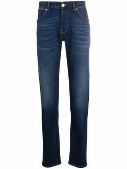 Pt05 джинсы кроя слим с эффектом потертости DJ05B20GTLKU13
