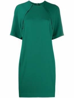 Victoria, Victoria Beckham shift dress with split back 2420WDR002051A