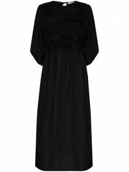 Cecilie Bahnsen вечернее платье Lesleigh с оборками AW200001LESLEIGHDRESS