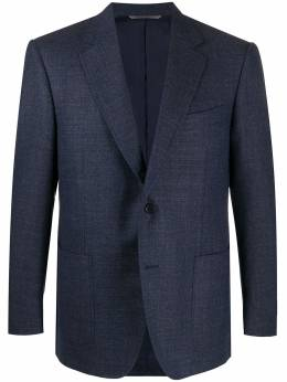 Canali Venezia woven blazer 11288CU01158