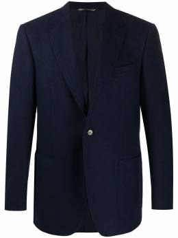 Canali single-breasted wool blazer 11288CF02978