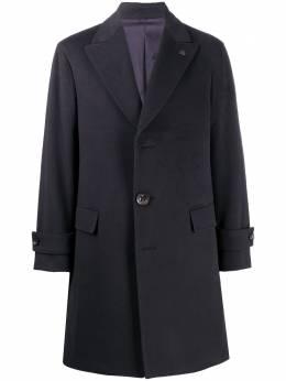 Gabriele Pasini кашемировое однобортное пальто миди G16369GP16490