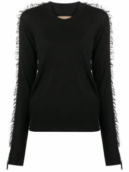 Uma Wang свитер с бахромой UK7164