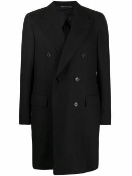 Canali double breasted coat 50844FR02824