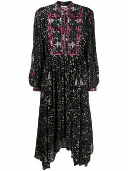 Isabel Marant Etoile floral print flared dress RO175520A043E