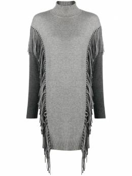 Pinko fringed jumper dress 1B14VGY694IID