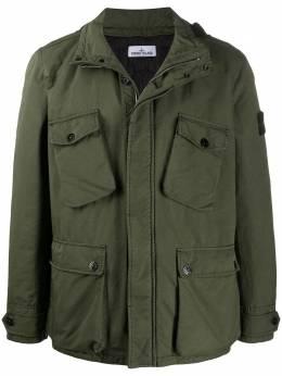 Stone Island David-TC concealed hood jacket MO731542549