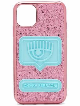 Chiara Ferragni чехол для iPhone 11 с блестками CFCIP11005