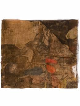 Uma Wang шарф с эффектом потертости UA0248