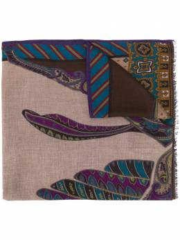 Etro paisley print lightweight scarf 117774022