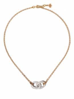 Carolina Bucci цепочное колье Links из белого и розового золота CB90479D