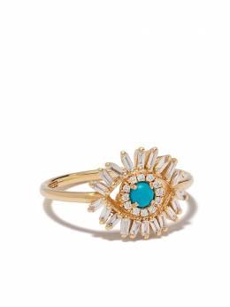 Suzanne Kalan золотое кольцо Evil Eye AKR632YG65
