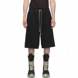 Rick Owens Black Karloff Shorts RU20F3399 BA