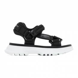 Givenchy Black Spectre Sandals BH3013H0RT