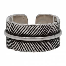 Isabel Marant Silver Feather Ring BG0122-20A001T