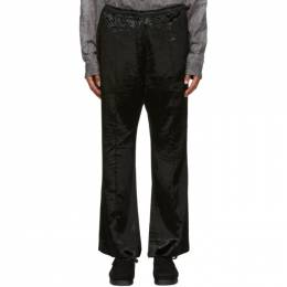 Needles Black Velvet Cowboy Trousers HM118