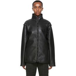 Needles Black Lined Boa Jacket HM077