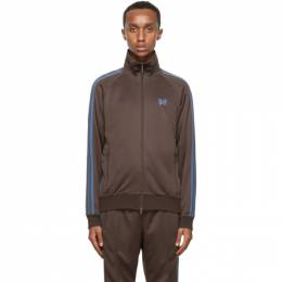 Needles Brown Tricot Track Jacket HM225