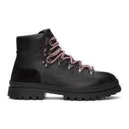 Moncler Black Trekset Ankle Boots F209B4G7090002SFG