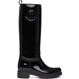 Moncler Black Ginger Tall Boots F209B4G7010004747