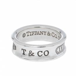 Tiffany & Co. 1837 Silver Band Ring Size 54 327669