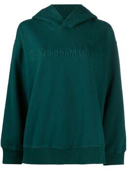 Mm6 Maison Margiela embossed logo hoodie S52GU0123S25337