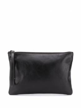 Common Projects logo-print clutch bag 9188