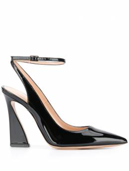 Gianvito Rossi varnished finish pumps G9528215RICVER
