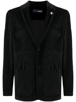 Lardini corduroy single-breasted blazer IMAMAC1301
