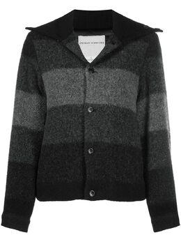 Stephan Schneider куртка Sense в полоску AW204289