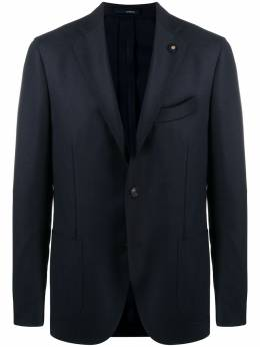 Lardini single-breasted wool blazer IM528AERP55597