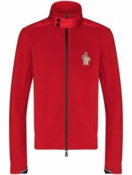 Moncler Grenoble red maglia zip-up jacket F20978G7000080093