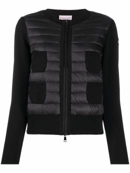 Moncler padded panel knit jacket F20939B51000A9018