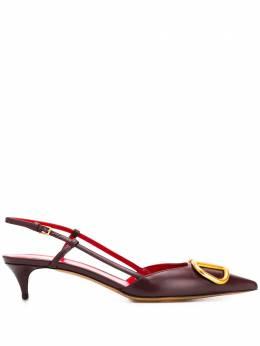 Valentino Garavani туфли с ремешком на пятке и логотипом VLogo UW2S0Q70DSH
