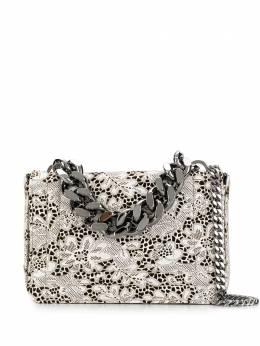 Casadei сумка на плечо с цветочной вышивкой 3W262R0000B0158